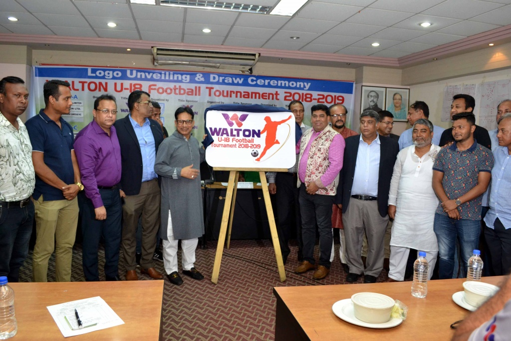 Logo Unveiling – Signing & Draw Ceremony of Walton BFF U-18 Football Tournament 2019 held