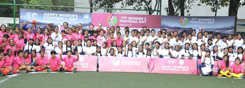 BFF Observes AFC Women's Football Day on March 8