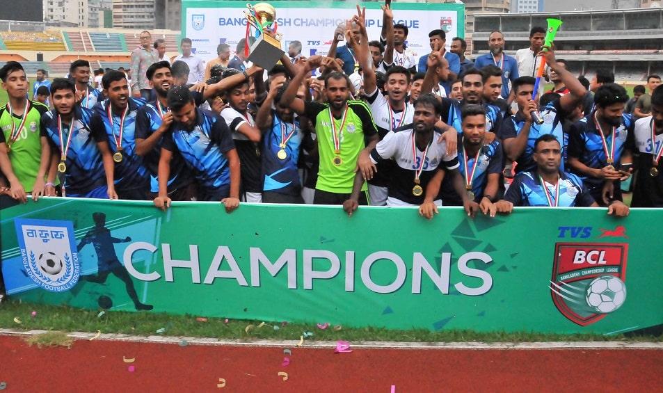 Bangladesh Police lift BCL trophy, Uttar Baridhara runners up
