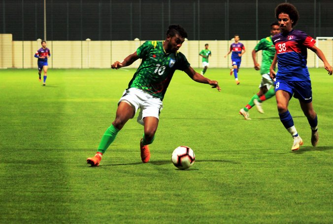 U23 boys clinch victory in first practice match