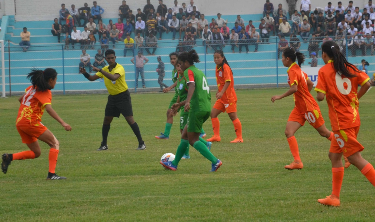 SAFF: Bengal girls confirm semifinal eliminating Bhutan 2-0