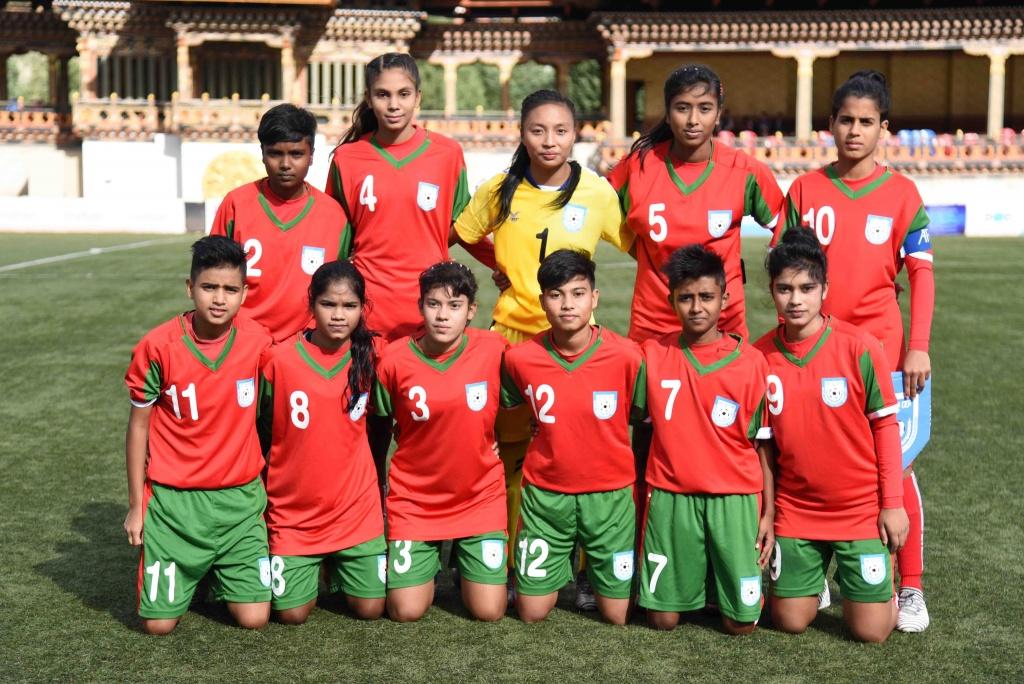 U15 Women reach final of SAFF 2019