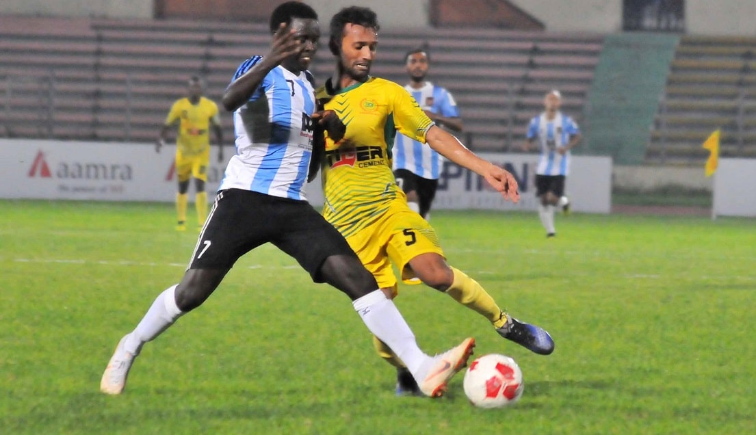 Jamal thrash Rahmatganj 4-0 with late flurry of goals
