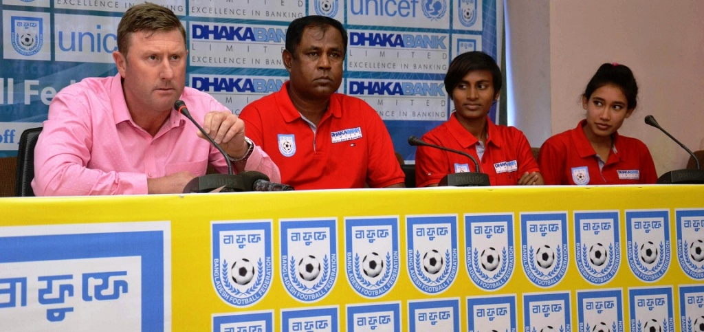 Bangladesh women's national team flies for Nepal Sunday