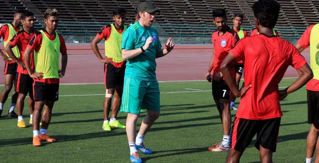 Team Bangladesh begins practice