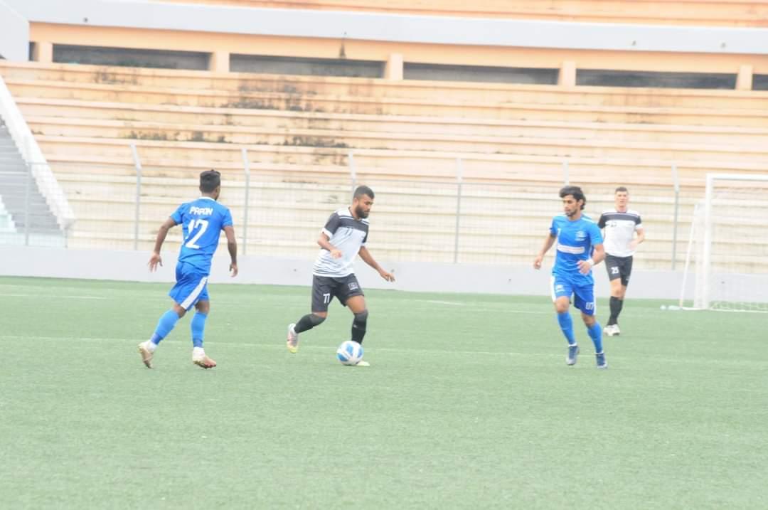 Uttar Baridhara Club defeated Arambagh Krira Shangha by 1-0 goal