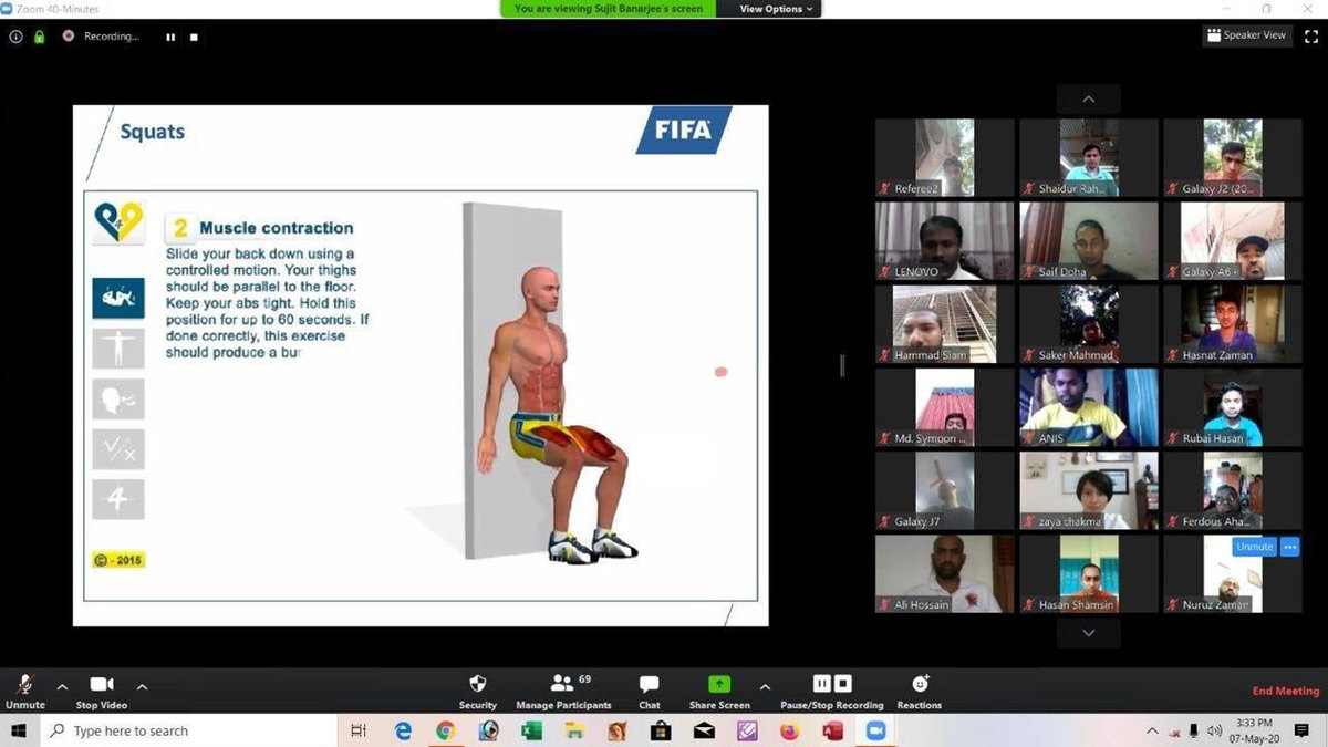 Handball, Offside and Muscular fitness- The Classes for Referees