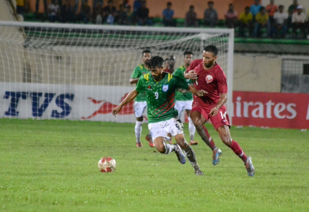 Tigers fight bravely against Qatar