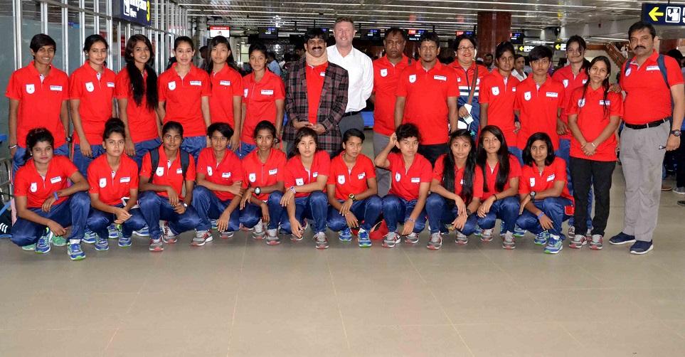 Women footballers in Myanmar to play Olympic qualifiers