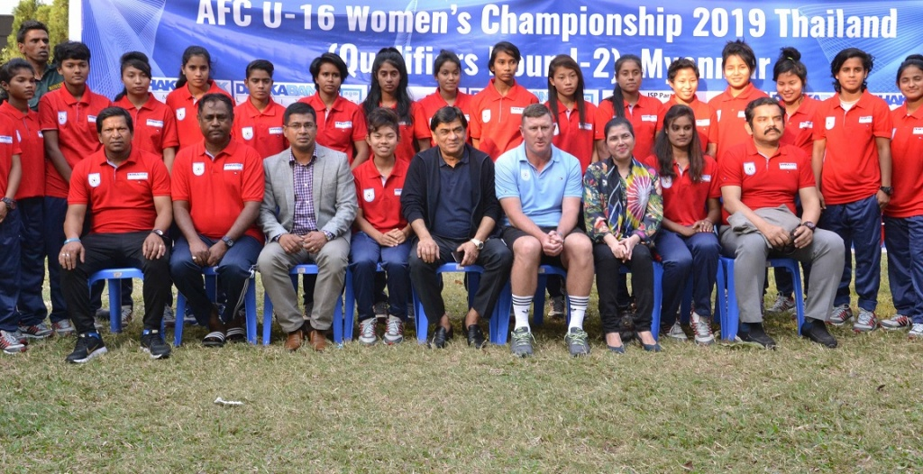 U16 girls leaving for Myanmar with high hopes