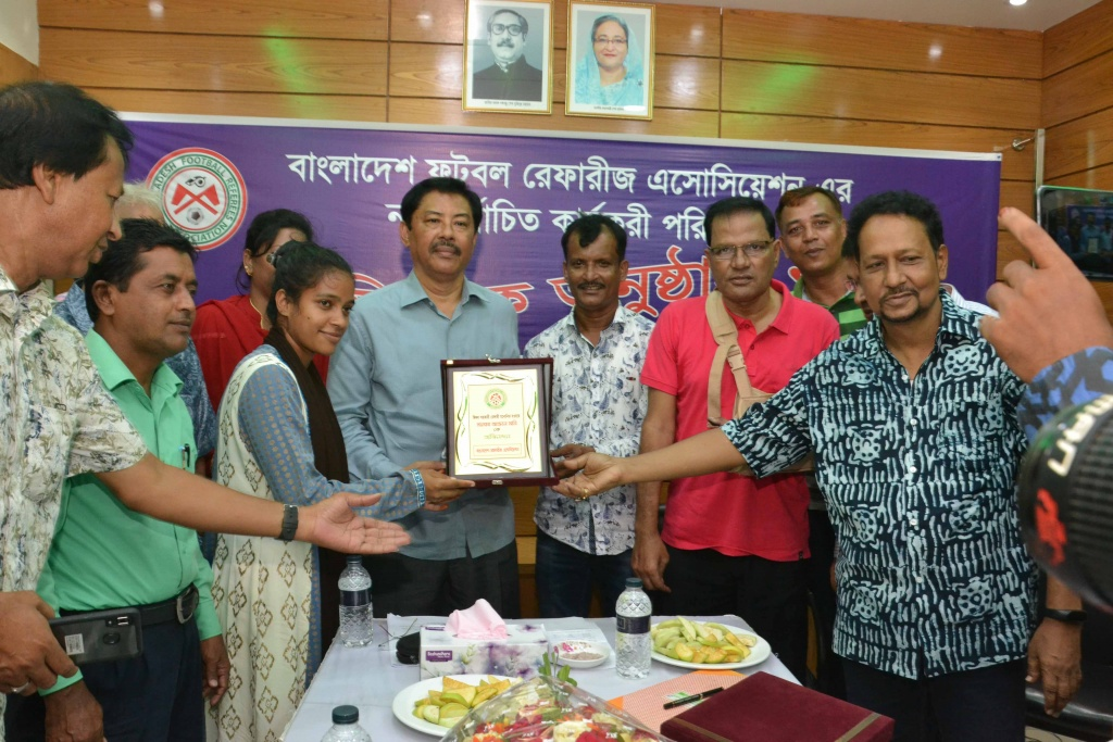 Inauguration of the Newly Elected Committee of Bangladesh Football Referees Association 2019