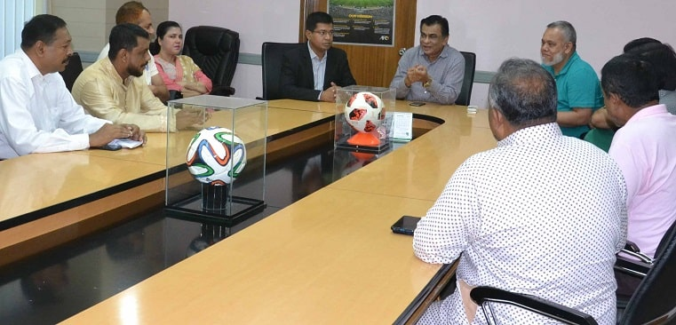 First division clubs representatives meet BFF President
