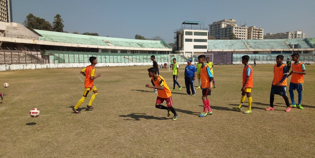 Primary talent hunt for Football Academy ends