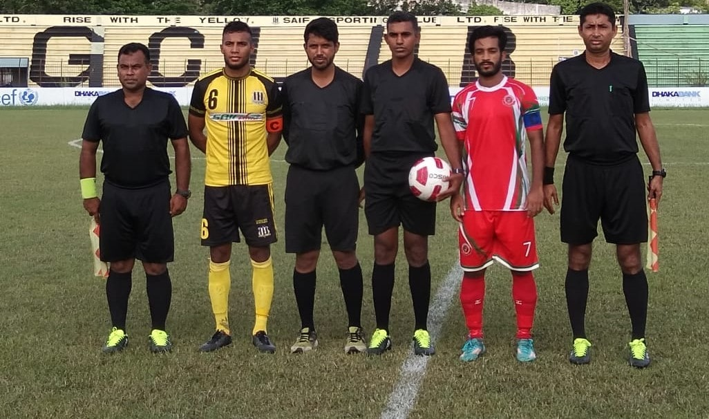 Saif beat Muktijoddha 3-1 in their season ending game