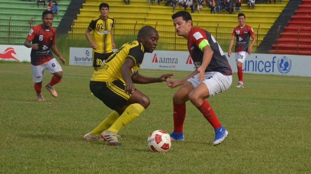 Bashundhara back on track beating Saif 2-0