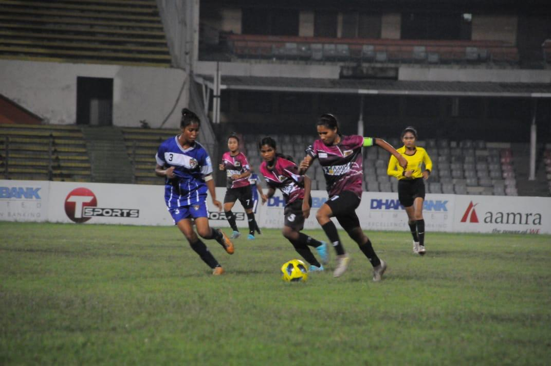Ataur Rahman Bhuiyan College SC defeated FC Brahmanbaria by 7-0 goals