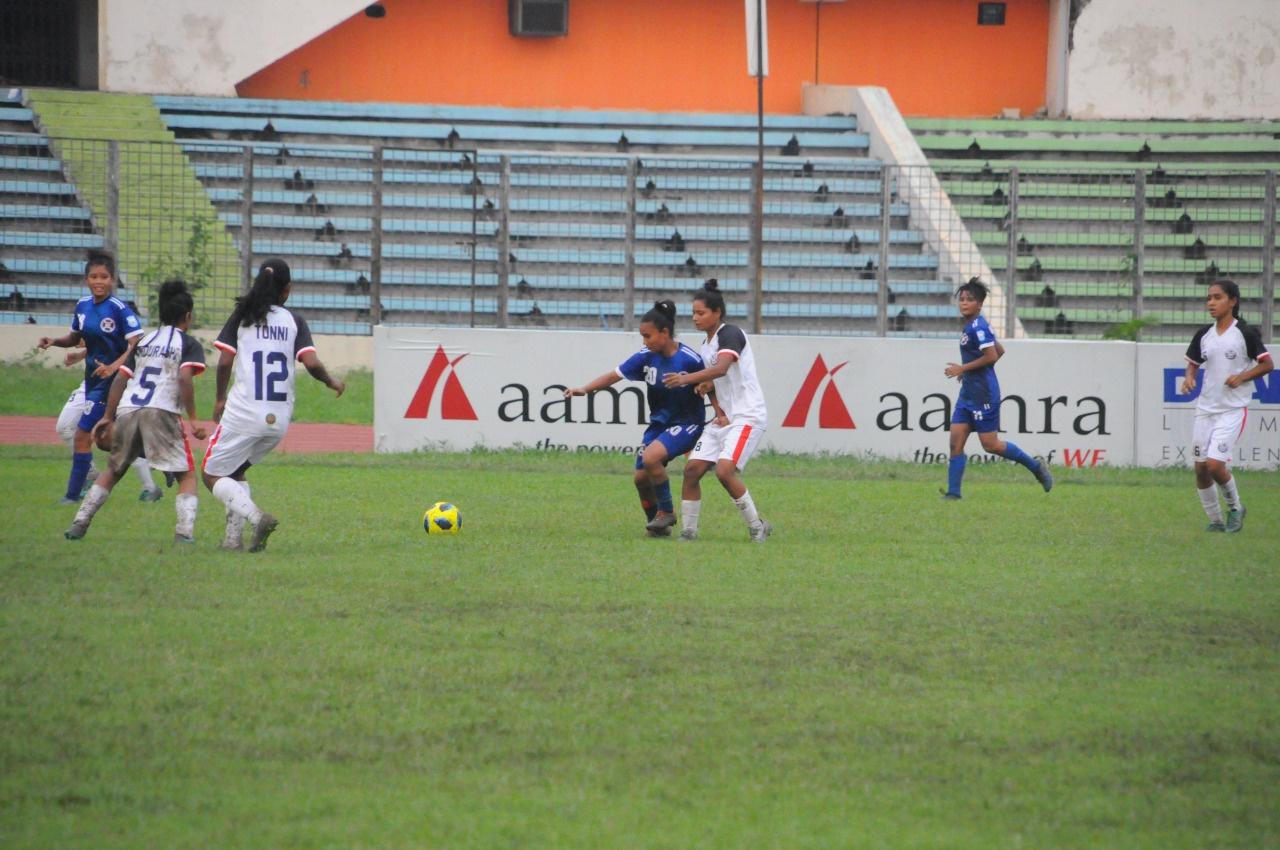Jamalpur Kacharipara Akados defeated Suddopuskorini Jubo SC by 4-3 goals