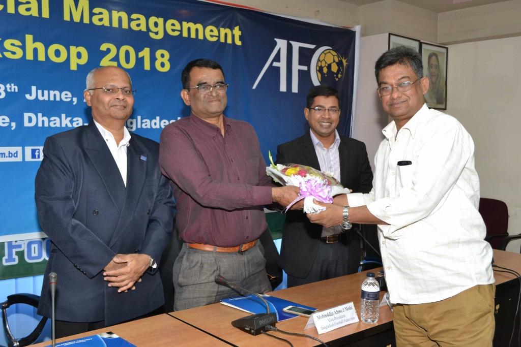 BPL, BD Championship participants receive Financial Management training