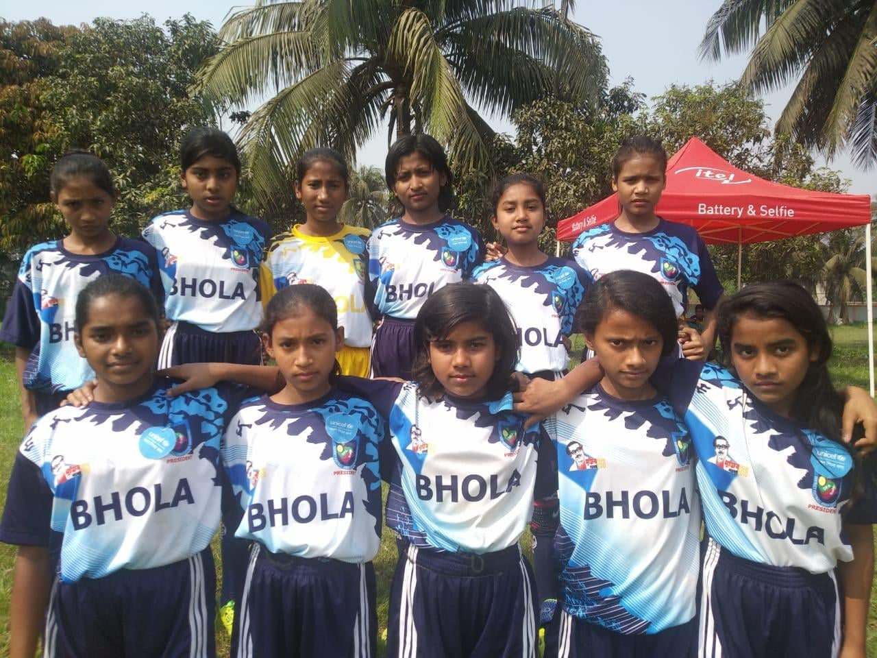 Magura district defeated Bhola district