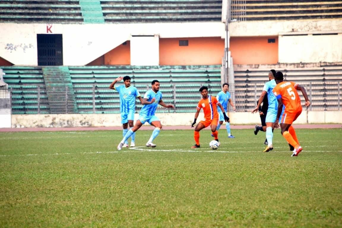 Abahani Ltd. Dhaka claims victory