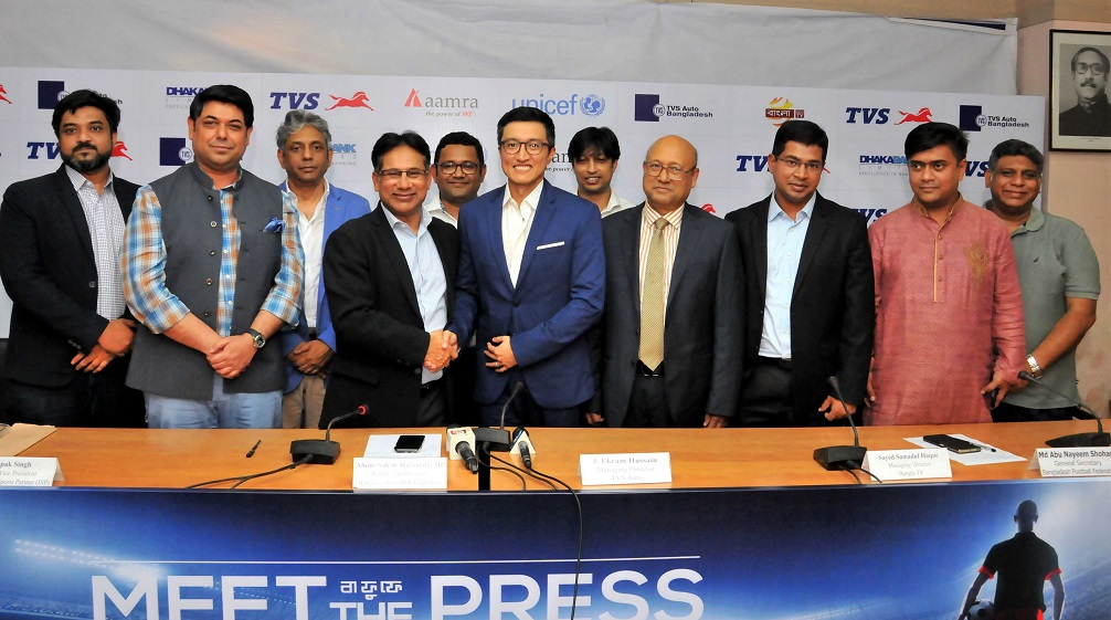 Deal inked with ISP, new BPL title sponsor TVS