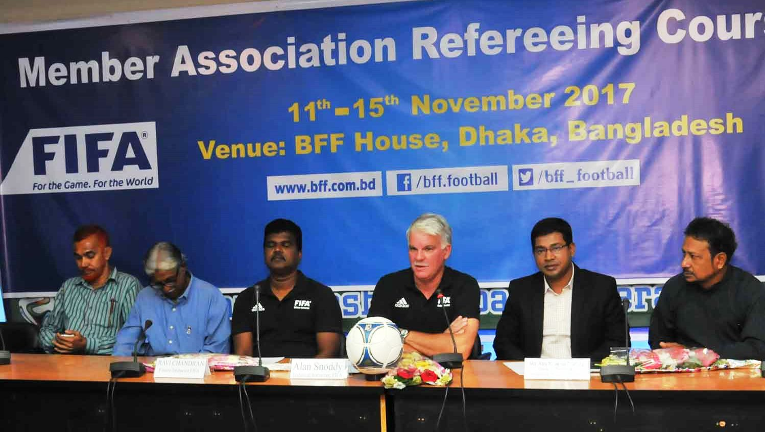 FIFA MA Refereeing Course launched by BFF