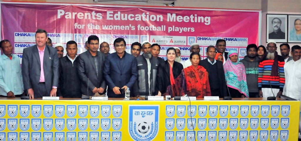 BFF signs contract with 36 female footballers