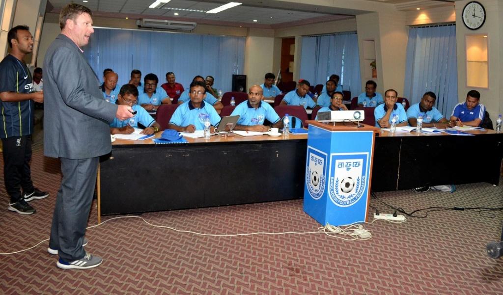 AFC A Certificate Coaching Course begins