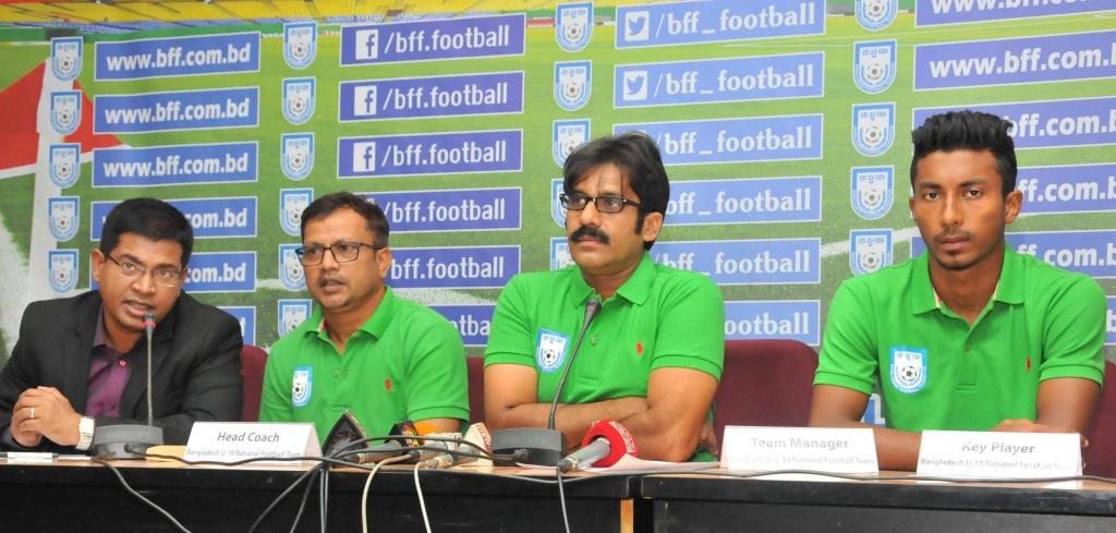 U-19 boys ready for AFC U19 qualifiers