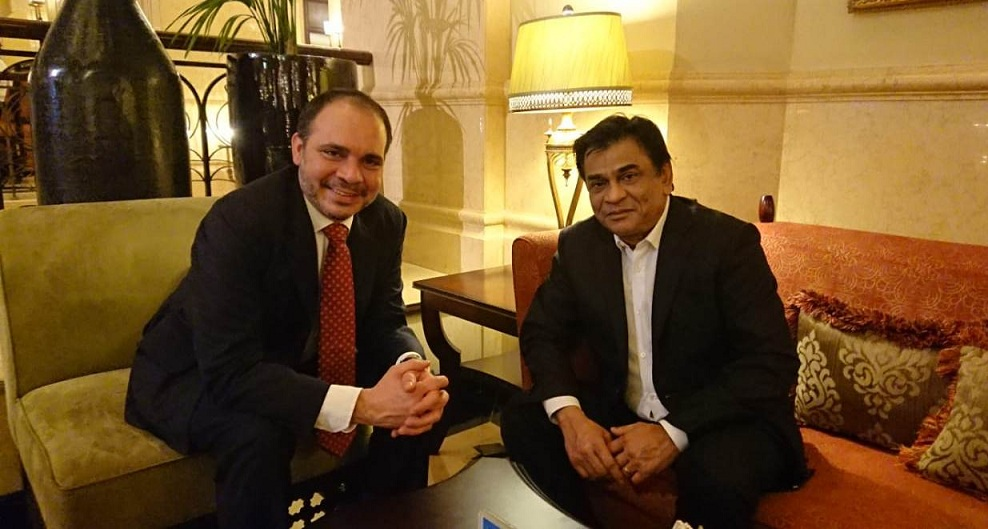 BFF President meets Jordan FA President