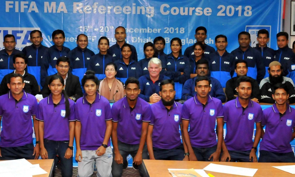 5-day long FIFA MA Refereeing Course held