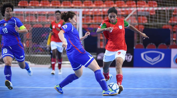AFC Women's Futsal: Bengal girls show promise despite loss