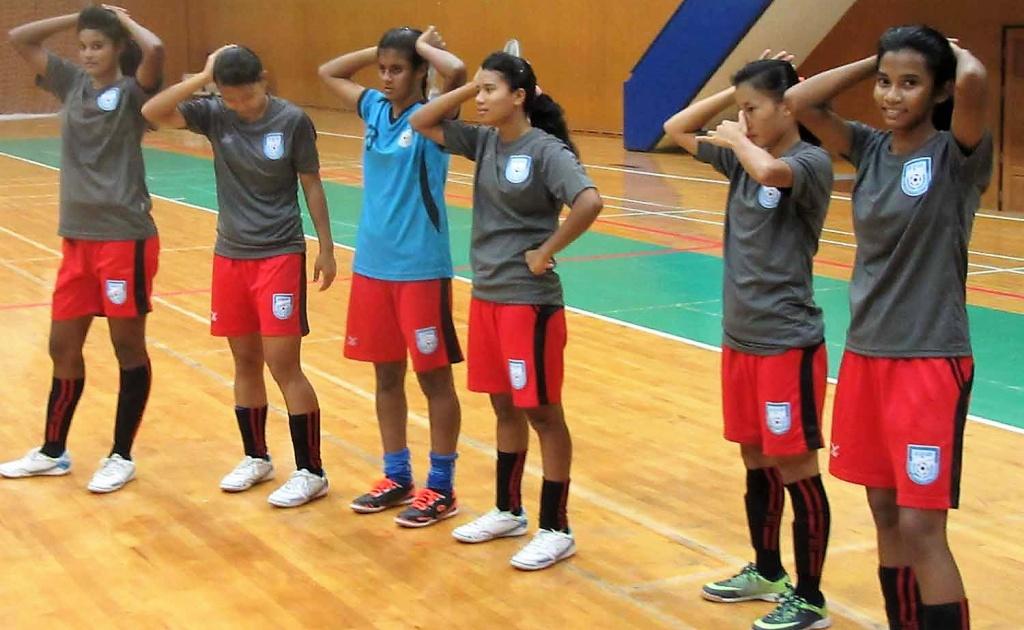 AFC Women's Futsal: Bangladesh ready to fight Chinese Taipei