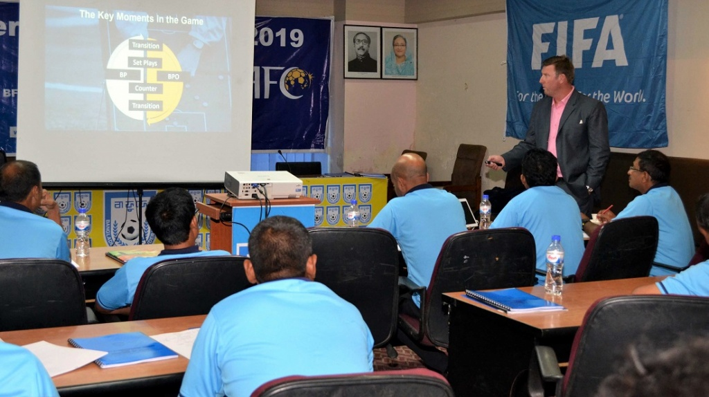 BFF AFC A Certificate Course 2019: A harmony of local and foreign coaches