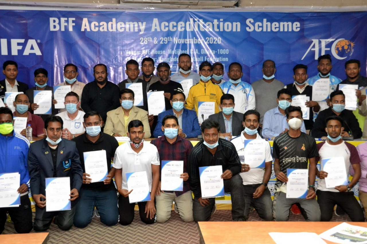BFF AFC Academy Accreditation Scheme (Media Information)