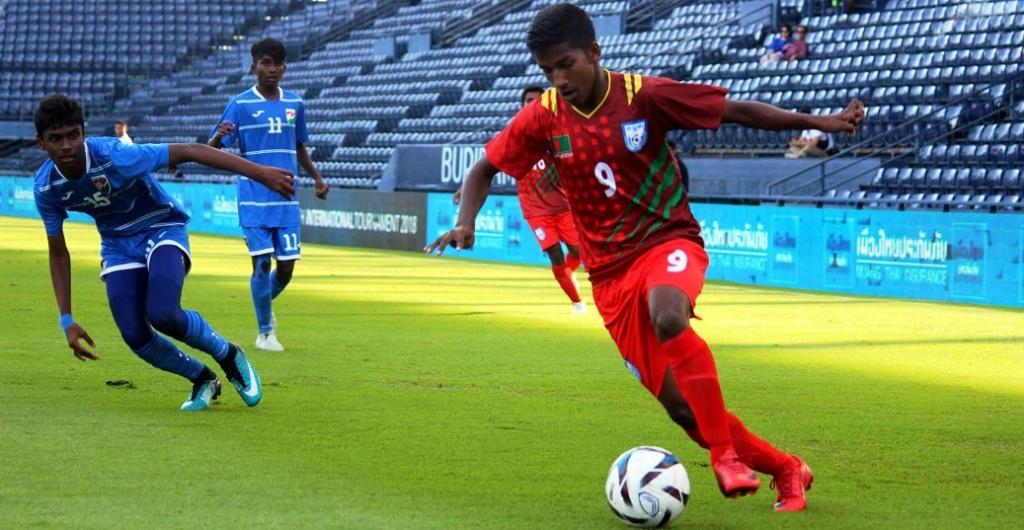 U15 boys sink Maldives 10-0