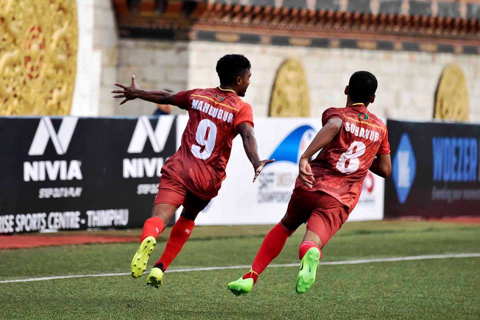 SAFF U18 begins with Bangladesh fireworks