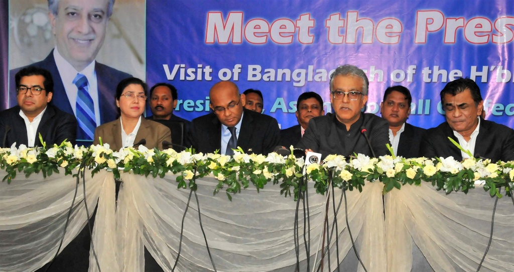 AFC President promises help to develop Bangladesh football