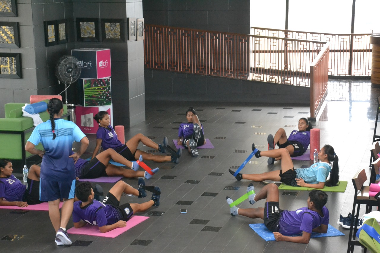 Bangladesh National Womens' team prepares for friendly matches
