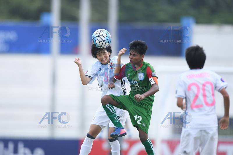 AFC Championship: U16 girls fight well against superior Japan