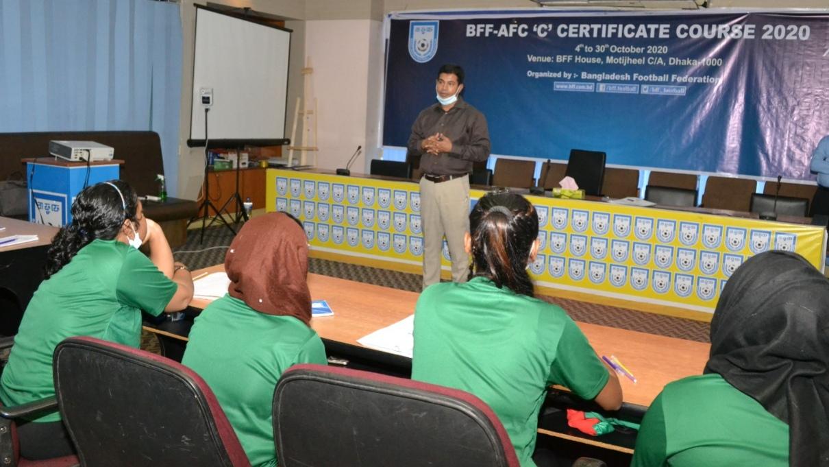 "BFF-AFC ""C"" Certificate Course 2020"