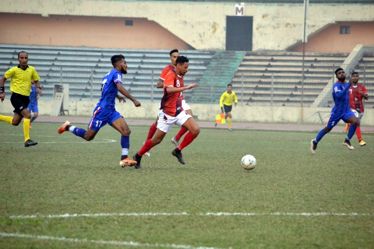 Bashundhara Kings triumphs over Bangladesh Police FC