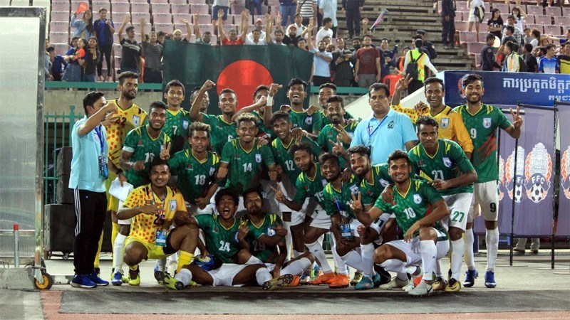 Bangladesh Team for FIFA-AFC Joint Qualifiers