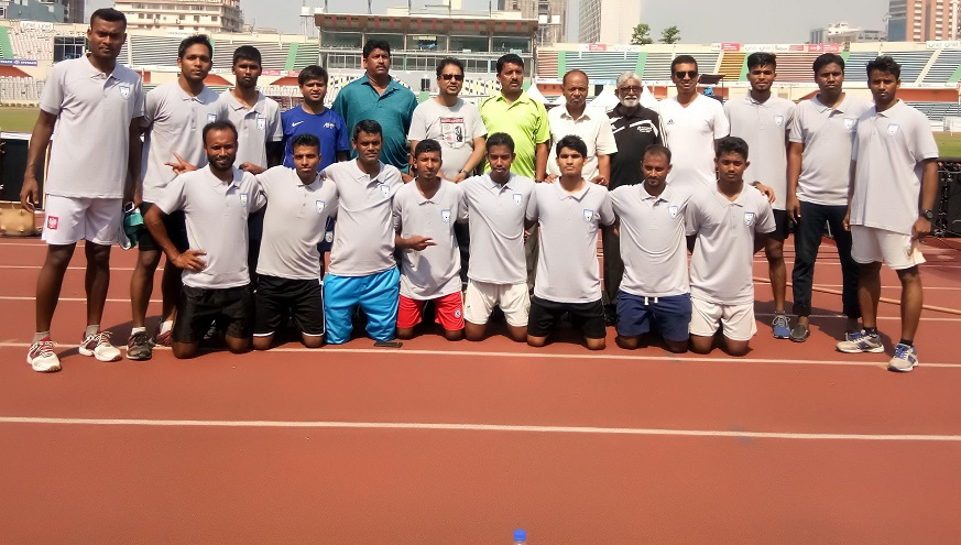 Class 3 referees go through promotion test