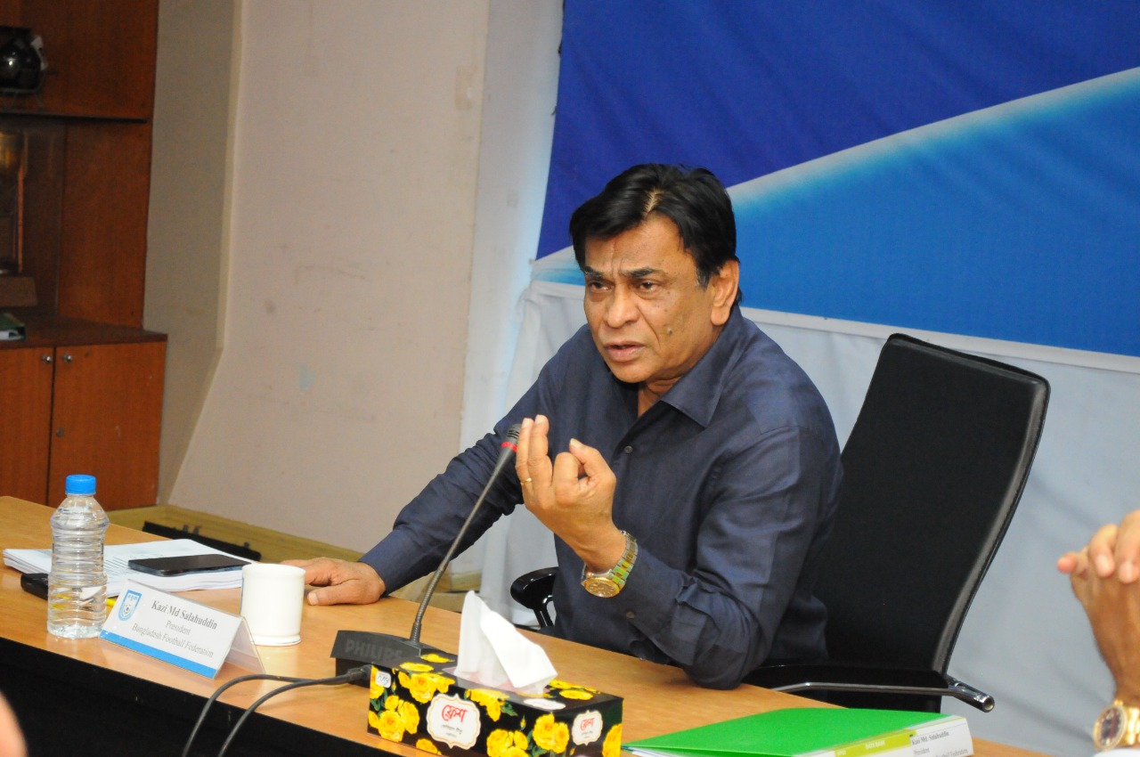 Regular meeting of Executive Committee of the BFF was held today