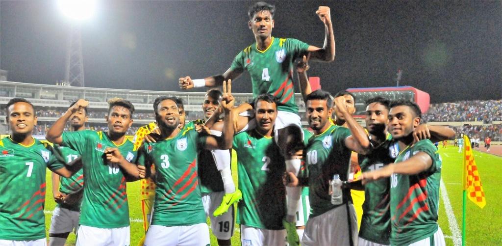 Bangladesh top Group A beating Pakistan 1-0