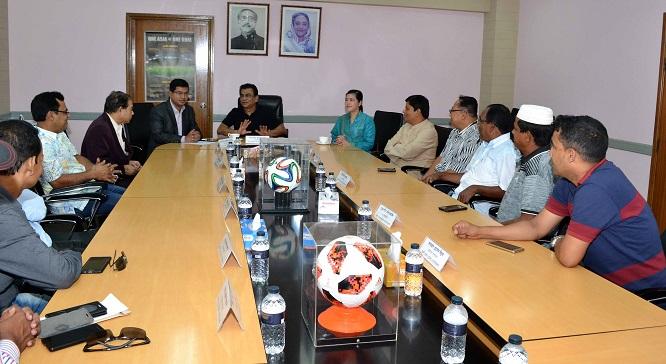 Kazi Salahuddin meets DFA presidents