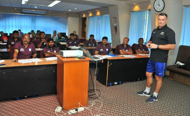 AFC GK Level 1 Coaching Course a success
