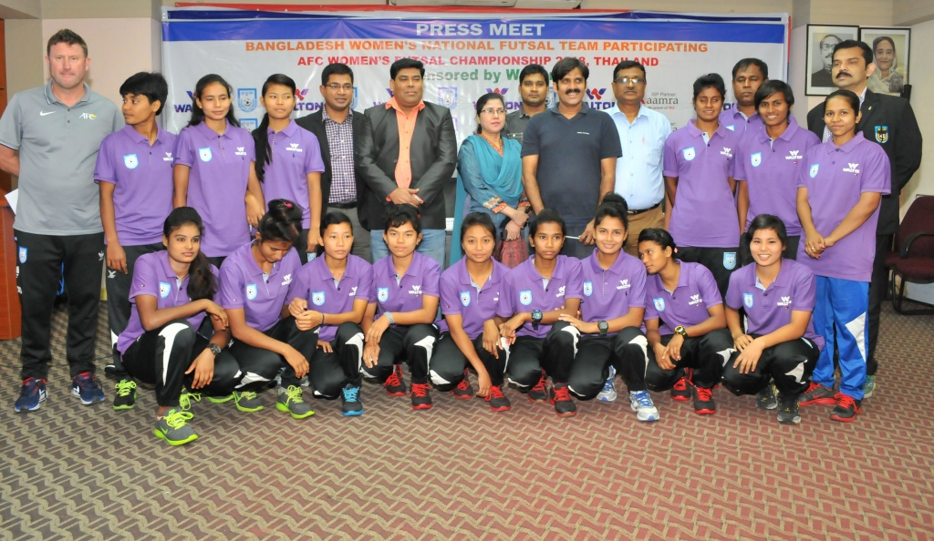 Women's futsal team ready for new adventure