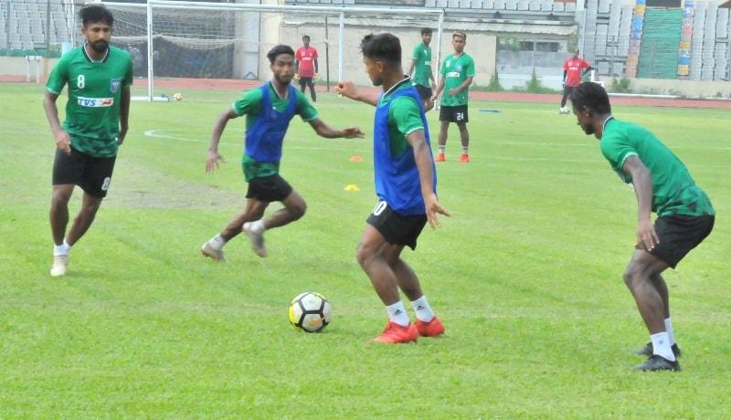 Press meet ahead of Bangladesh versus Laos match